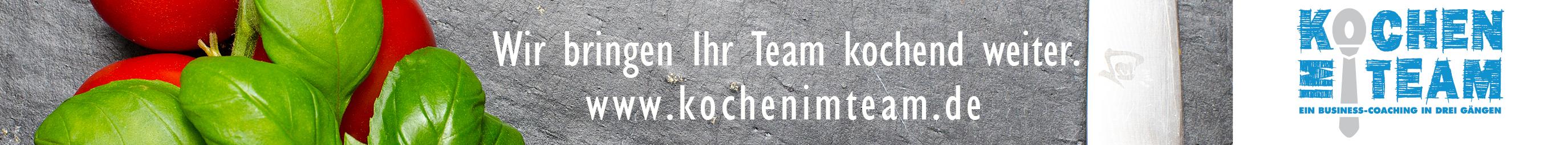 Kochen im Team, Kati Schmitt-STuhlträger, Teamentwicklung, Teambuilding